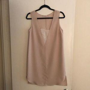 Zara - tan dress